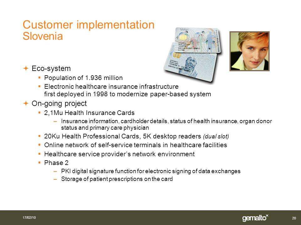 Customer implementation Slovenia