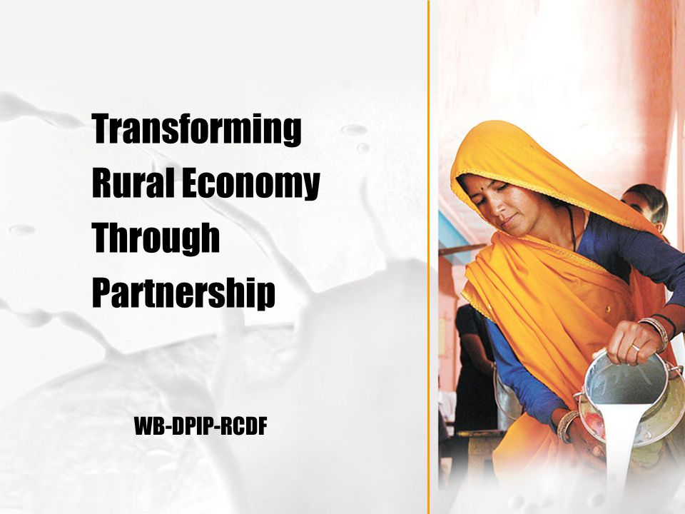 Transforming Rural Economy Through Partnership