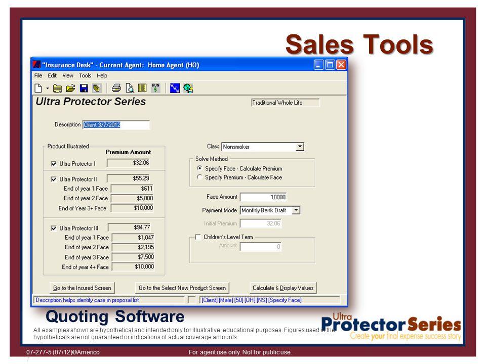 Sales Tools Quoting Software