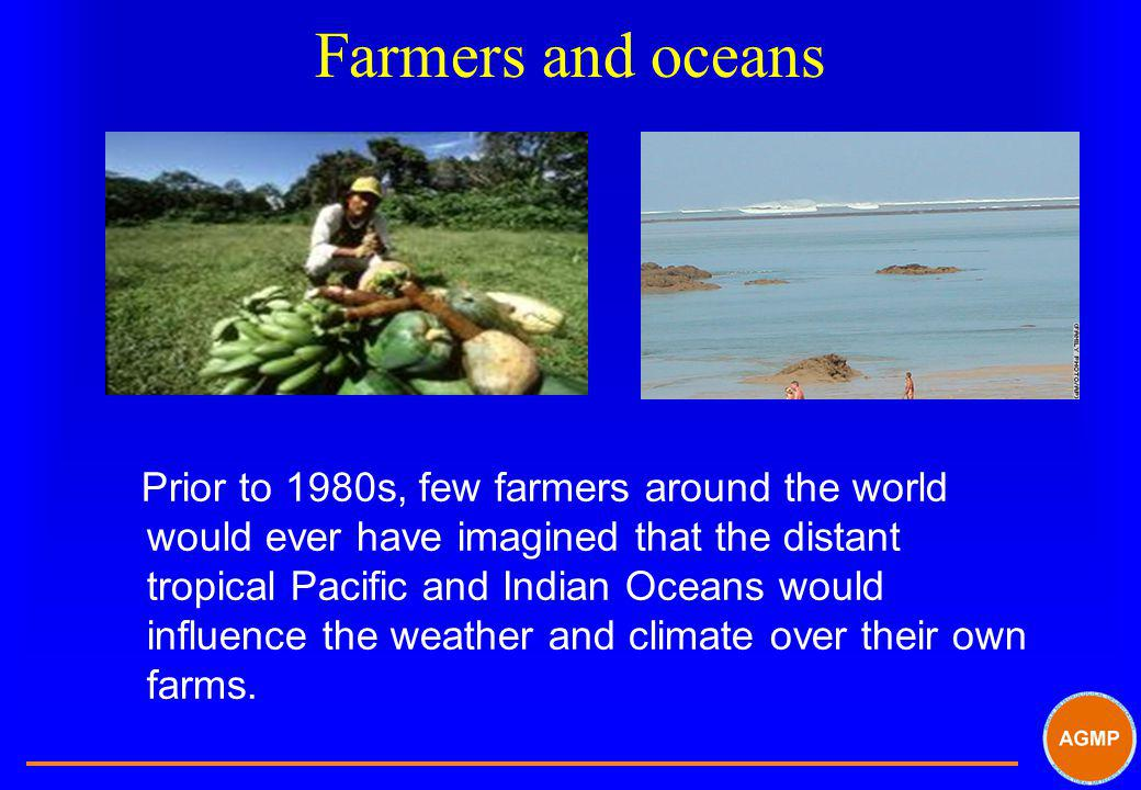 Farmers and oceans