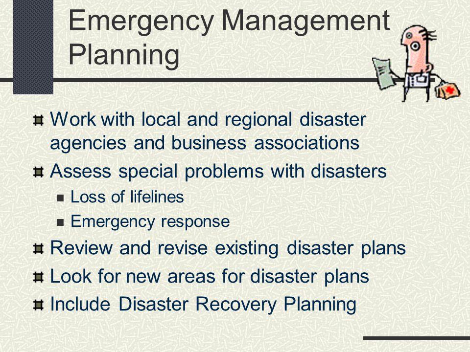 Emergency Management Planning
