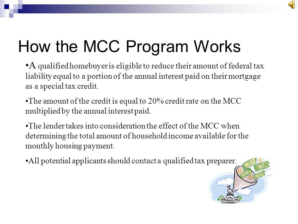 How the MCC Program Works