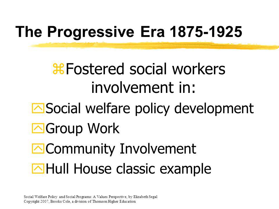 Fostered social workers involvement in: