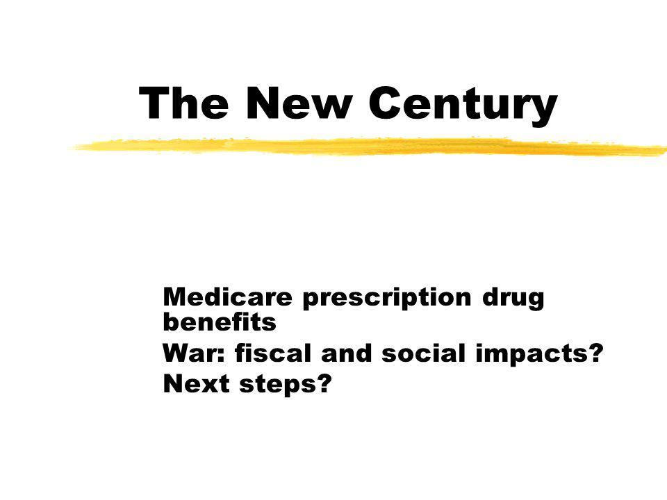 The New Century Medicare prescription drug benefits