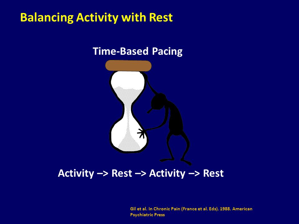 Balancing Activity with Rest