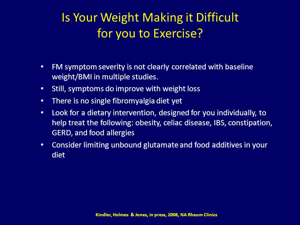 Is Your Weight Making it Difficult for you to Exercise