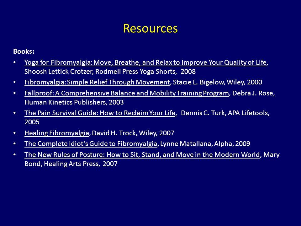Resources Books: