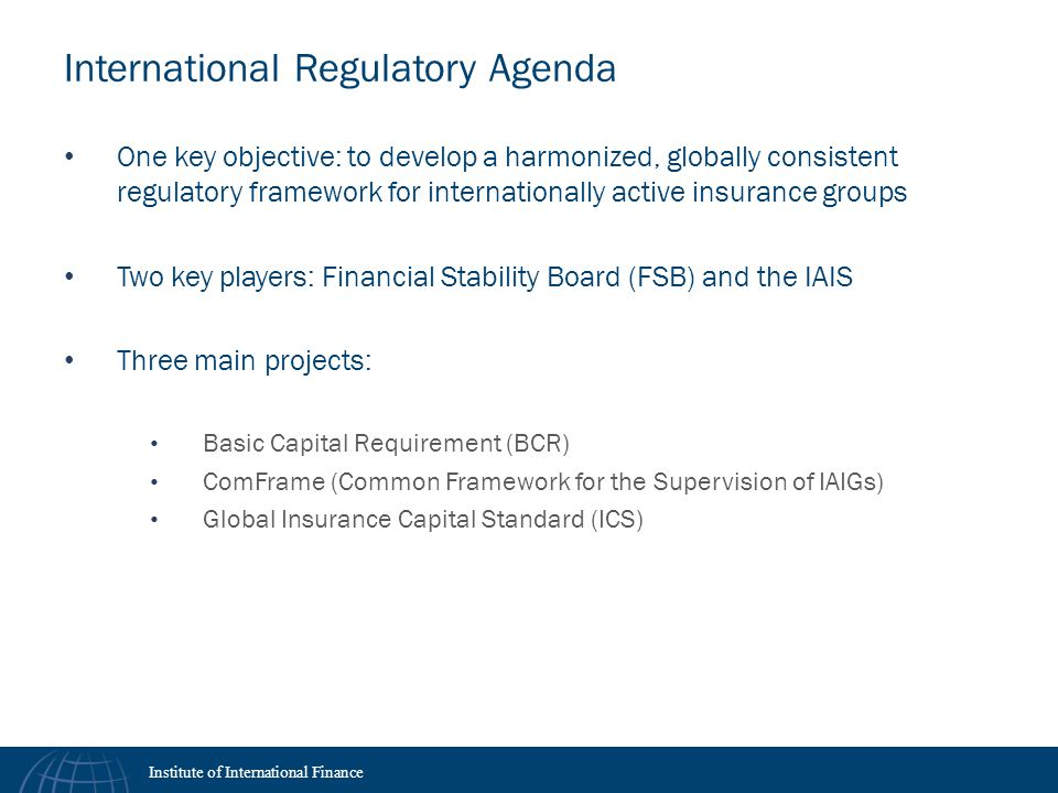 International Regulatory Agenda