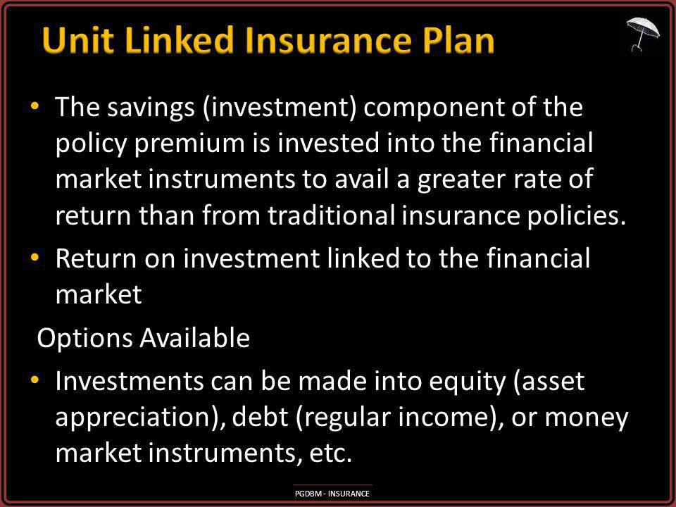 Unit Linked Insurance Plan