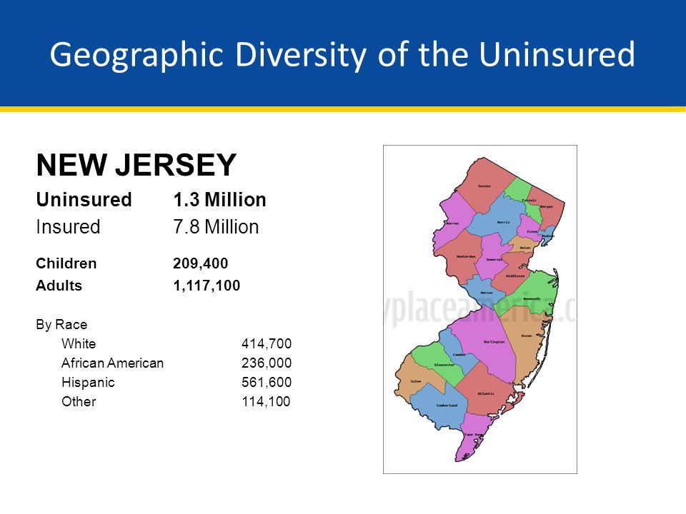 Geographic Diversity of the Uninsured