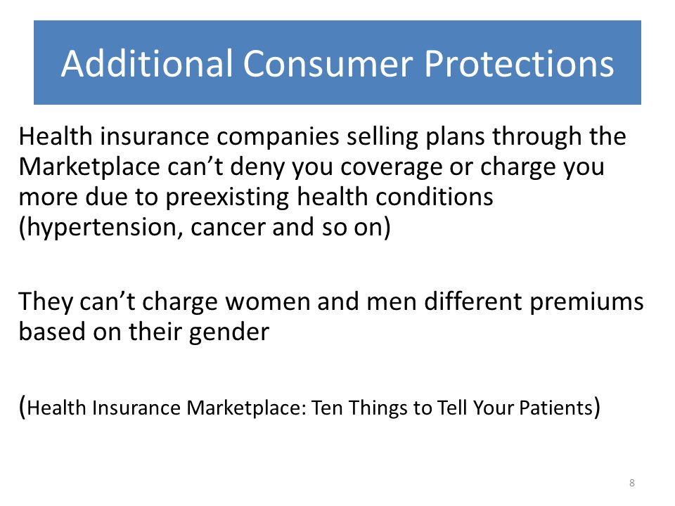 Additional Consumer Protections