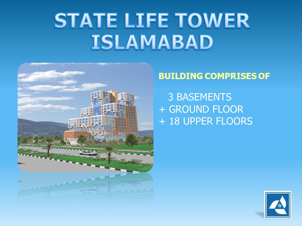 STATE LIFE TOWER ISLAMABAD