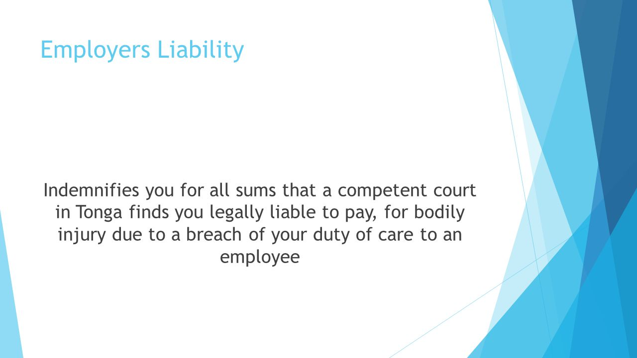 Employers Liability