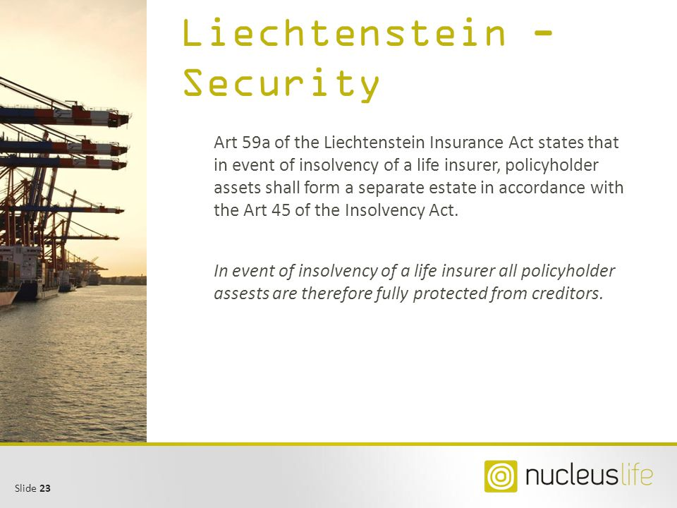 Liechtenstein - Security