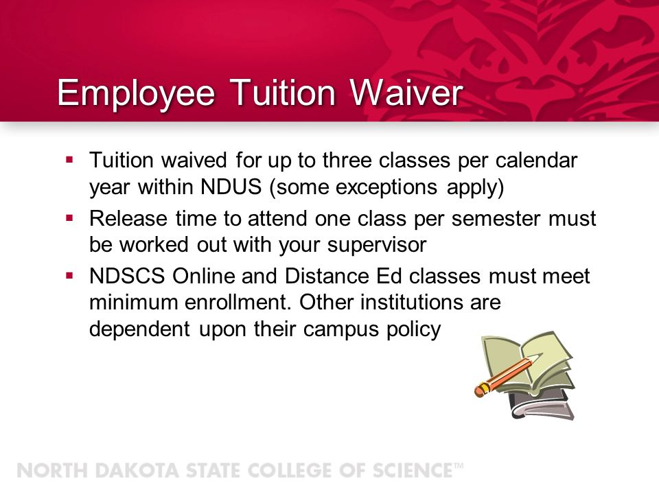 Employee Tuition Waiver