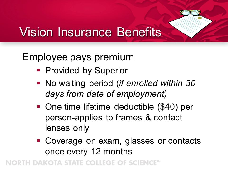 Vision Insurance Benefits
