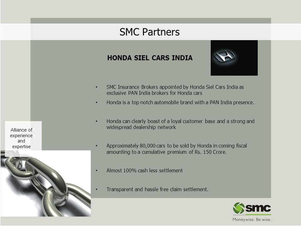 SMC Partners HONDA SIEL CARS INDIA