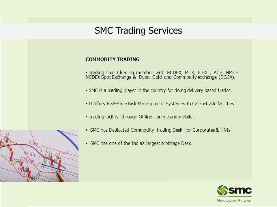 SMC Trading Services COMMODITY TRADING