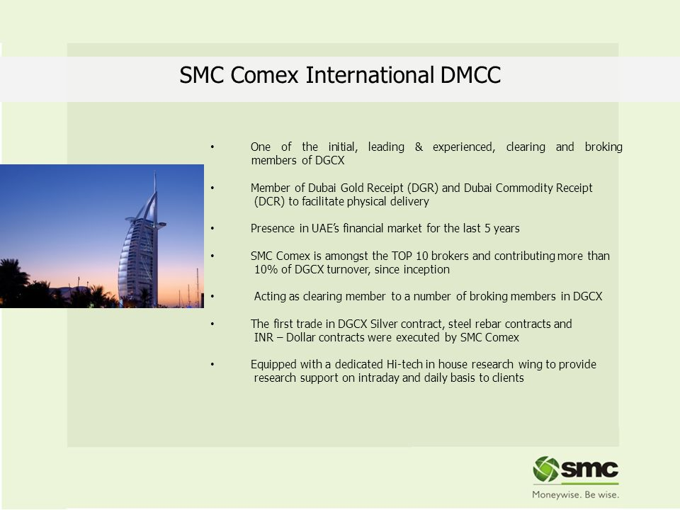 SMC Comex International DMCC