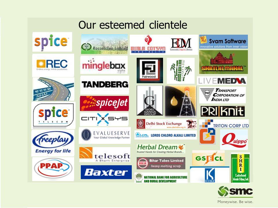Our esteemed clientele