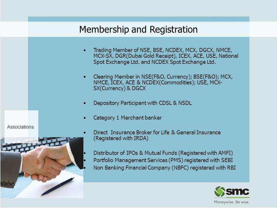 Membership and Registration