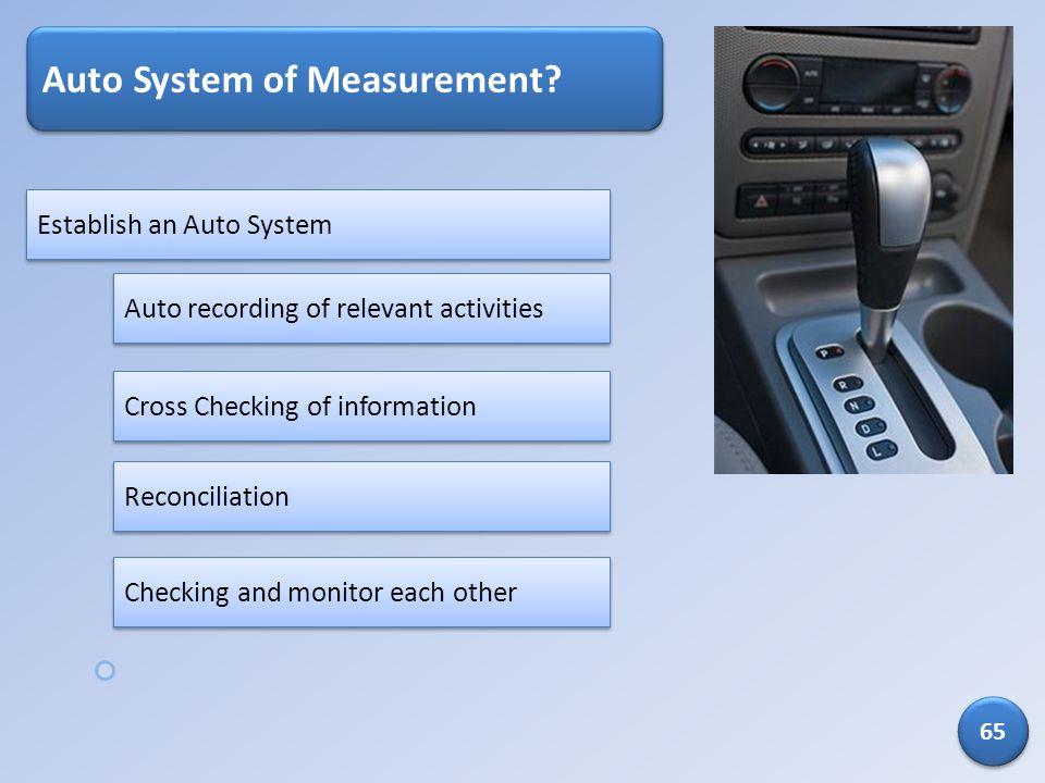 Auto System of Measurement