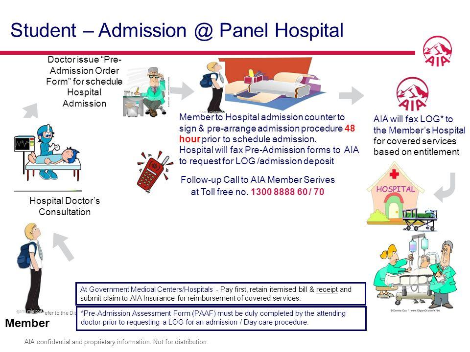 Hospital Doctor's Consultation