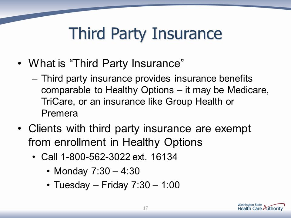 Third Party Insurance What is Third Party Insurance