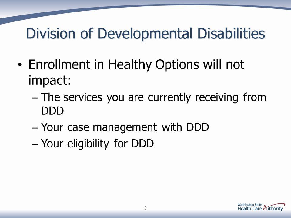 Division of Developmental Disabilities