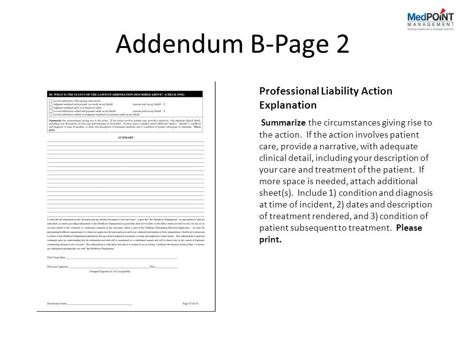 Addendum B-Page 2