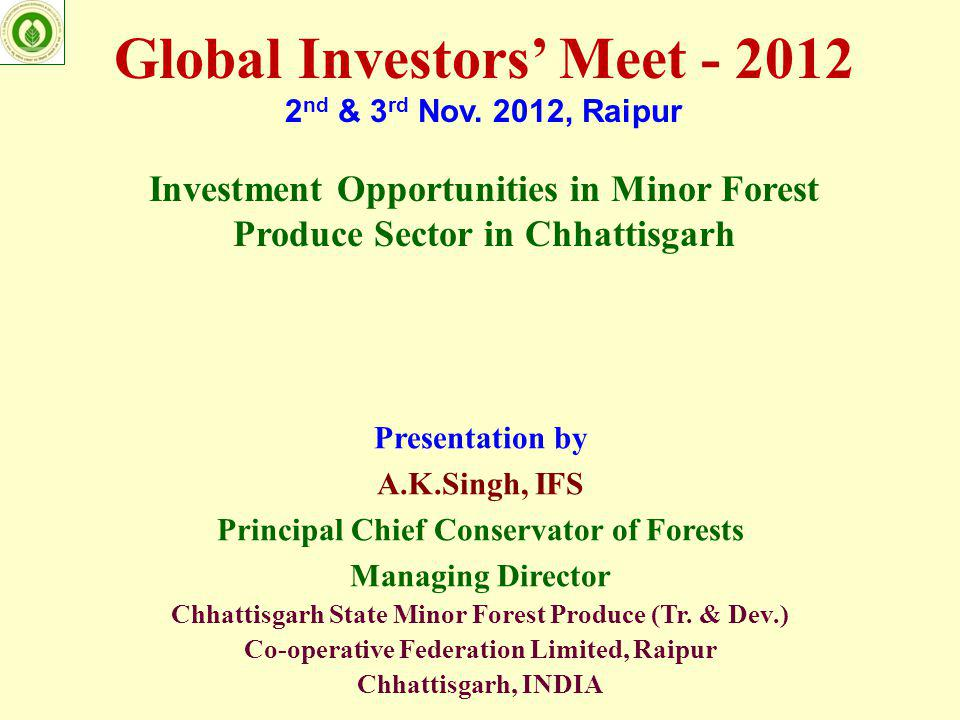global investors meet 2012 summary definition