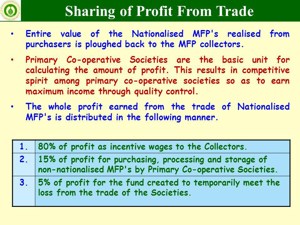 Sharing of Profit From Trade