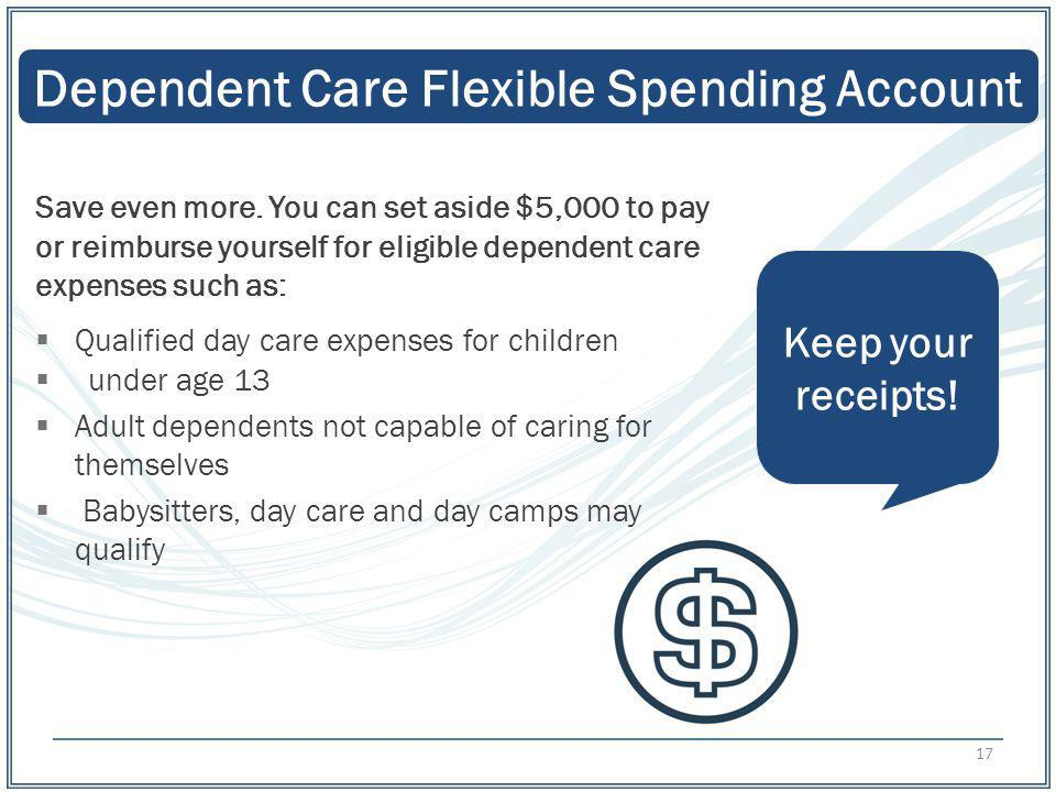 Dependent Care Flexible Spending Account