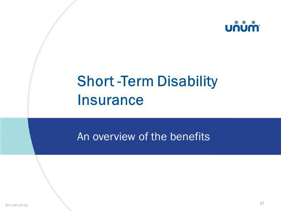 Short -Term Disability Insurance