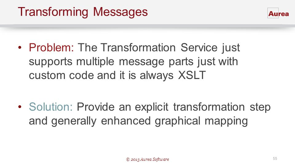 Transforming Messages