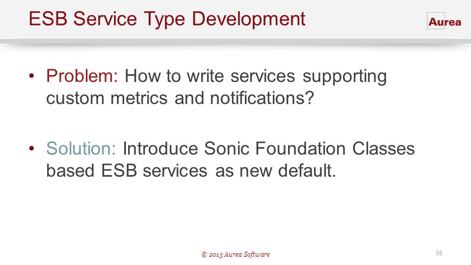 ESB Service Type Development