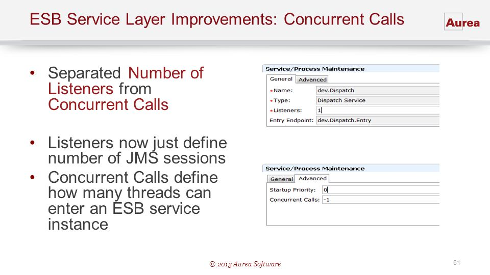 ESB Service Layer Improvements: Concurrent Calls