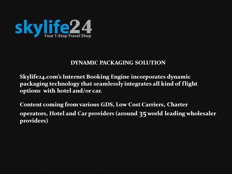 DYNAMIC PACKAGING SOLUTION
