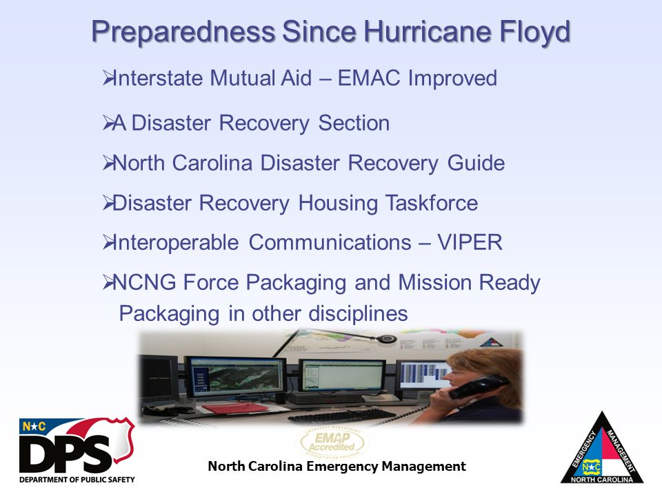 Preparedness Since Hurricane Floyd