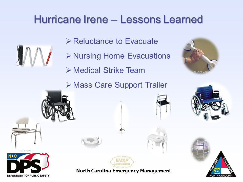 Hurricane Irene – Lessons Learned