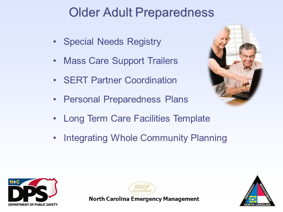 Older Adult Preparedness