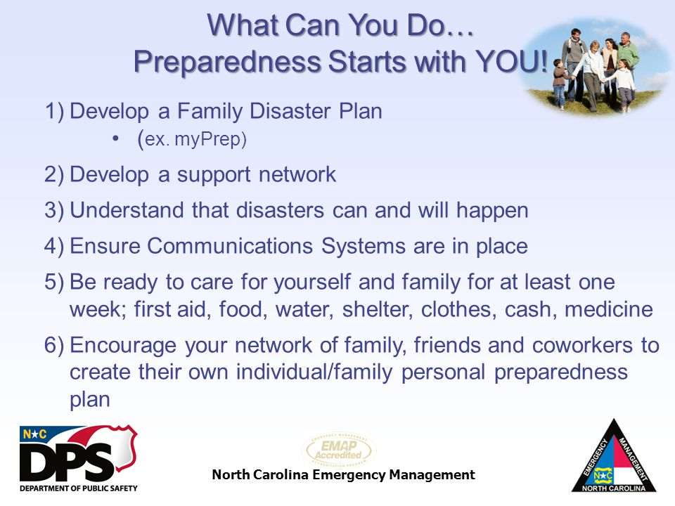 Preparedness Starts with YOU!