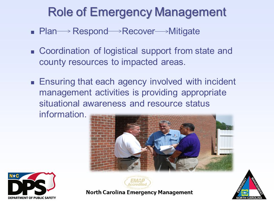 Role of Emergency Management