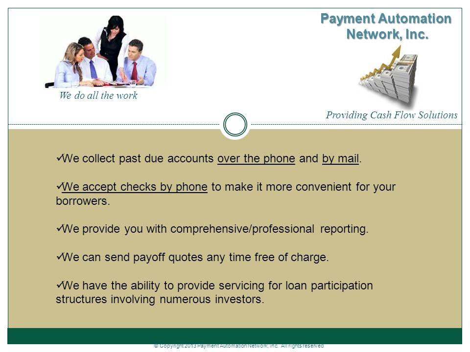 Payment Automation Network, Inc.