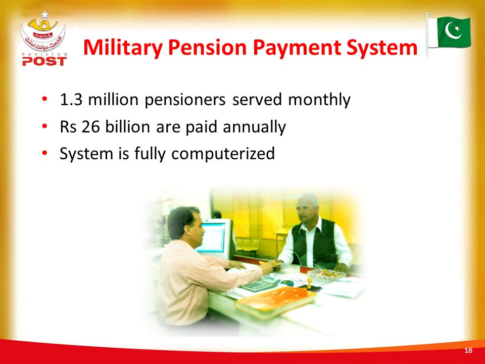 Military Pension Payment System