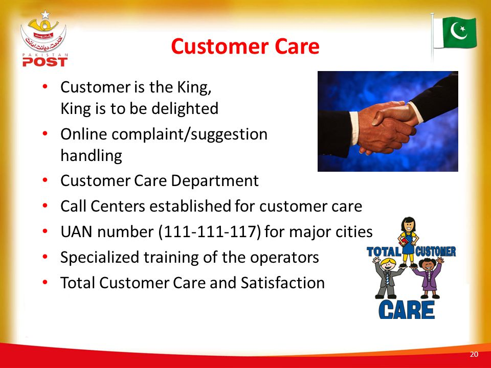 Customer Care Customer is the King, King is to be delighted