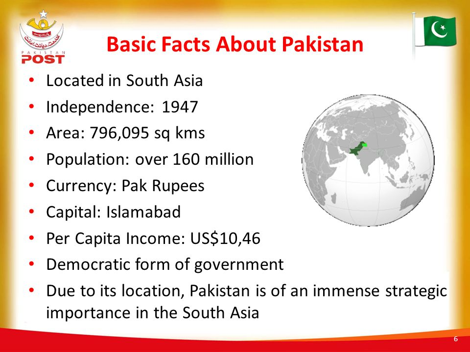 Basic Facts About Pakistan