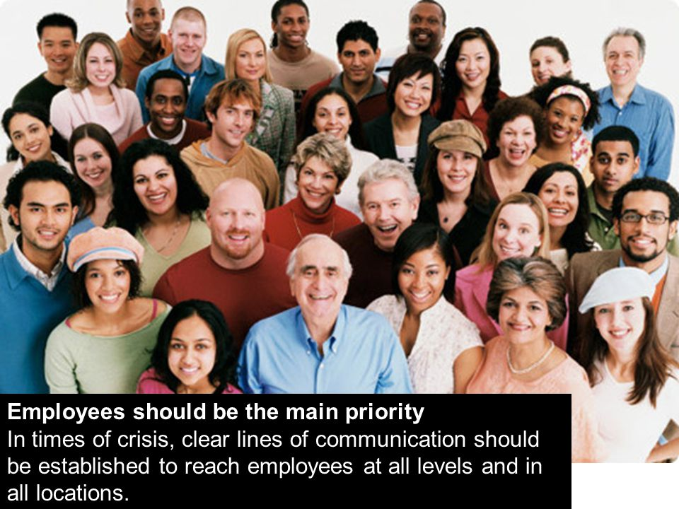 Employees should be the main priority