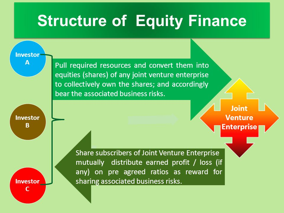 Structure of Equity Finance