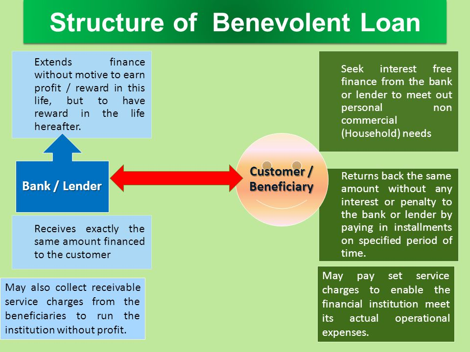 Structure of Benevolent Loan